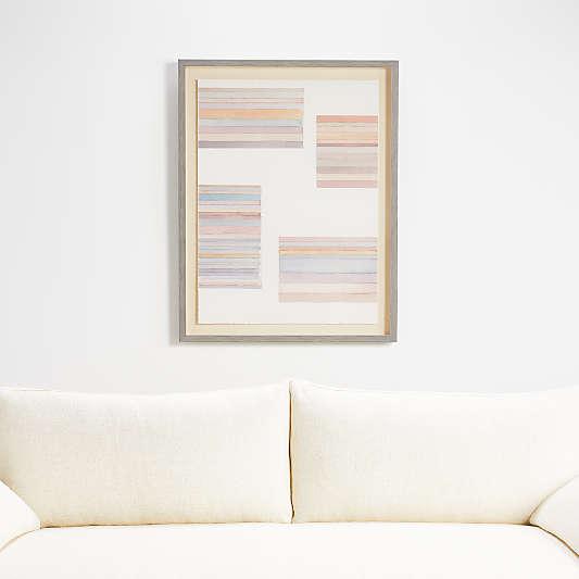 Watercolor Grid Print