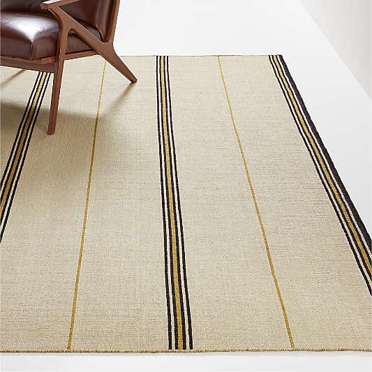 Wedner 2'x3' Indoor/Outdoor Striped Rug