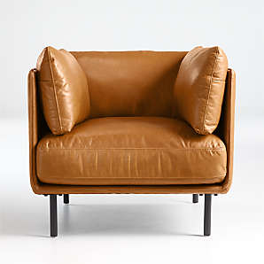 Accent and Swivel Chairs for the Living Room  Crate and Barrel Canada