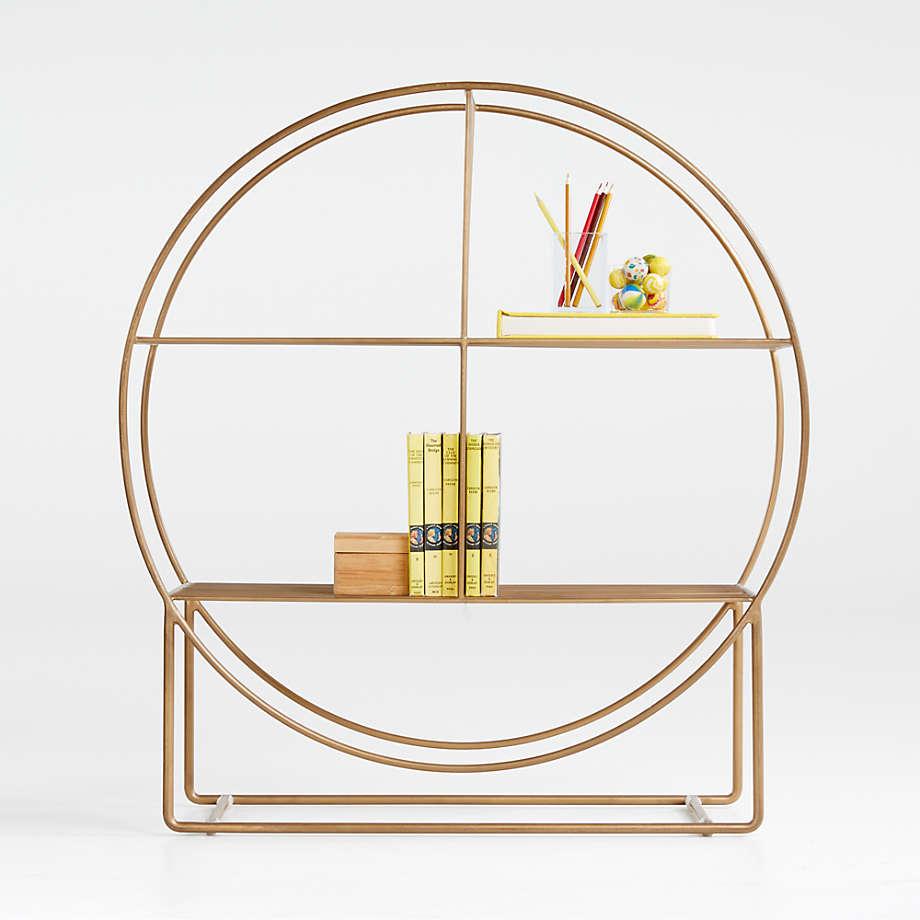 Wheelhouse Round Bookcase (Open Larger View)