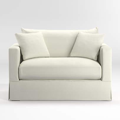 Slipcover Only For Willow Modern, Slipcovers For Sleeper Sofa