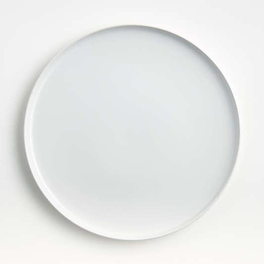 Wren Matte White Dinner Plate