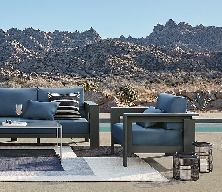 Patio Sets Outdoor Furniture, Patio Sets With Sunbrella Cushions