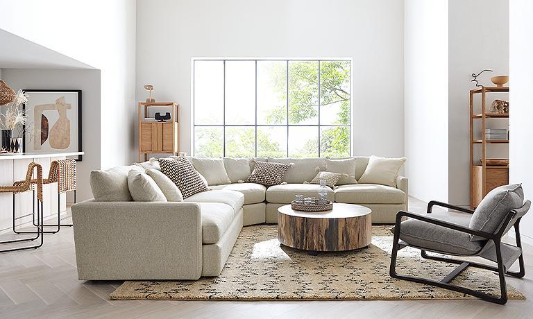 Rustic Living Room Crate And Barrel, Crate And Barrel Living Rooms