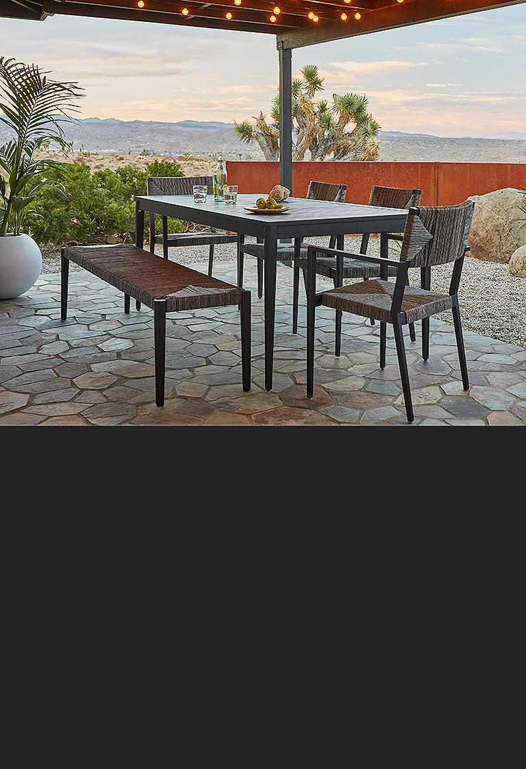 railay outdoor dining patio furniture