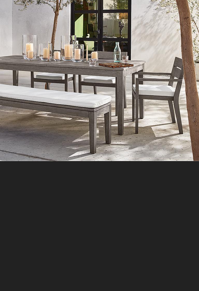 regatta grey teak outdoor lounge