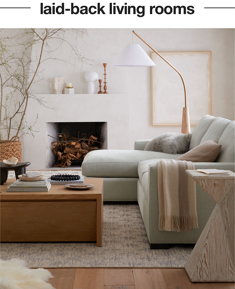 Decorating Ideas, Crate And Barrel Living Rooms