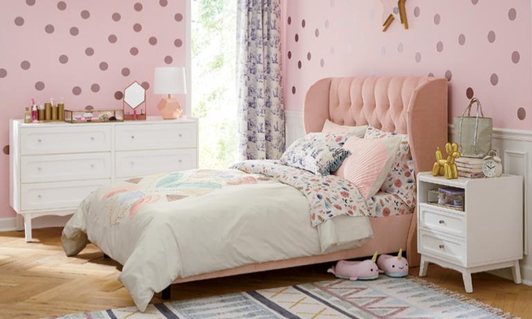 Girls Bedroom Inspiration Crate And Barrel
